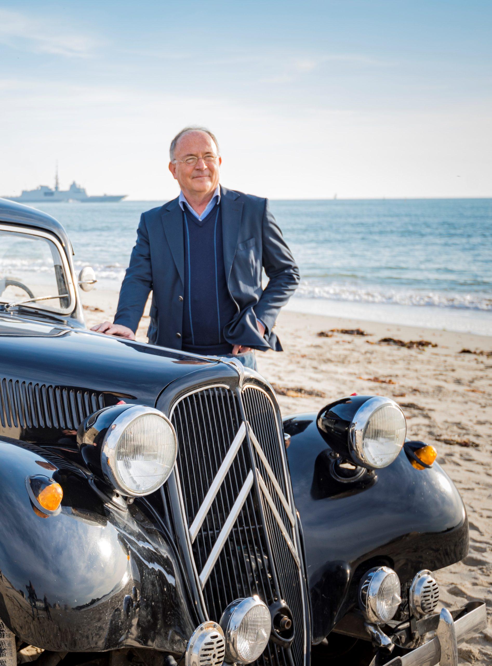 Henri-Jacques Citroën, petit-fils d'André Citroën